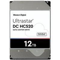 Hard Disk Drive Western Digital Ultrastar DC HC520 (He12) 3.5'' HDD 12TB 7200RPM SATA 6Gb/s 256MB | 0F29590