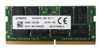 Memory RAM 1x 16GB Kingston DDR4 2Rx8 2400MHz PC4-19200 SO-DIMM  | K821PJ-MIB