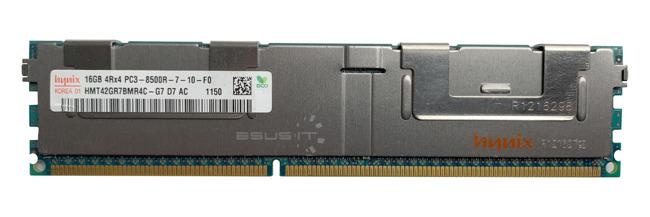 Memory RAM 1x 16GB Hynix ECC REGISTERED DDR3 4Rx4 1066MHz PC3-8500 RDIMM   HMT42GR7BMR4C-G7