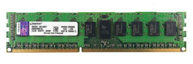 Memory RAM 1x 4GB Kingston ECC REGISTERED DDR3  1333MHz PC3-10600 RDIMM   HW4D3L13R9D8EC