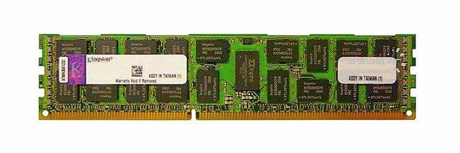 Memory RAM 1x 8GB Kingston ECC REGISTERED DDR3  1333MHz PC3-10600 RDIMM   KVR13LR9Q8/8HC