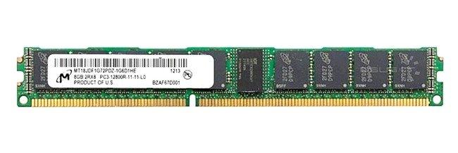 Memory RAM 1x 8GB Micron ECC REGISTERED DDR3  1600MHz PC3-12800 RDIMM   MT18KDF1G72PDZ-1G6