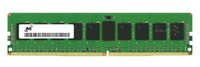 Memory RAM 1x 8GB Micron ECC UNBUFFERED DDR4  2133MHz PC4-17000 UDIMM   MTA18ASF1G72AZ-2G1